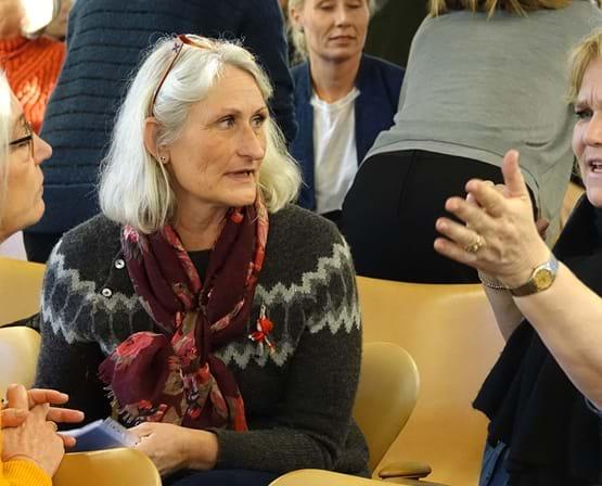 Fagpersoner i kommune er på temadag i Elsass Fonden