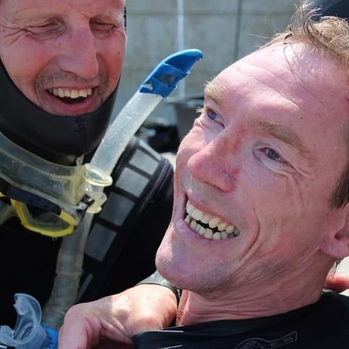 Dykning med Peder Mondrup