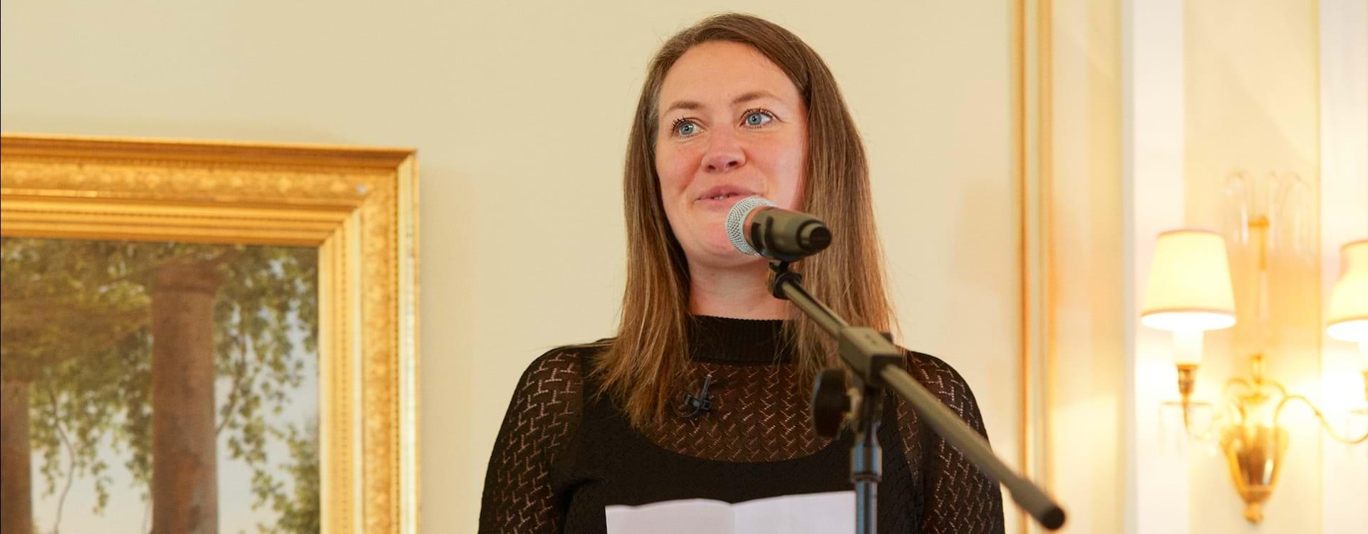 Katrin Jacobæus Prisvinder Tale